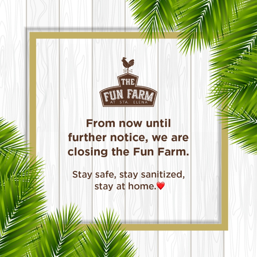 Fun Farm is closed